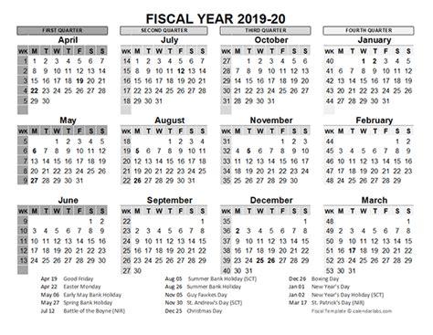 fiscal calendar uk template  printable templates