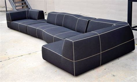 bb italia sofa b b italia quot bend quot sofa by urquiola at 1stdibs