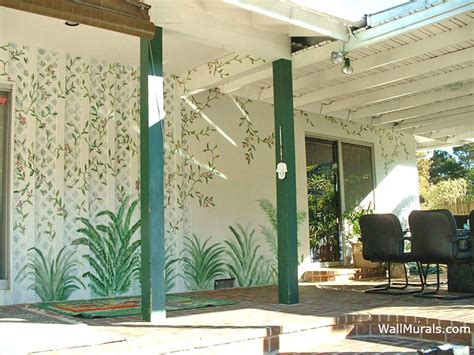 outside wall murals outdoor mural exles