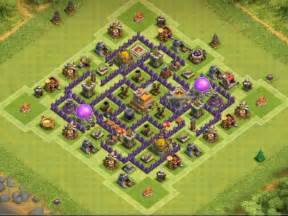 Coc town hall 7 trophy base clash of clans town hall 7 trophy base