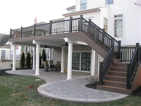 two story deck 1000 ideas about two story deck on pinterest second story deck second story and decks