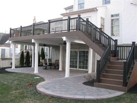 20 Unique 2 Story Deck Designs   Home Plans & Blueprints