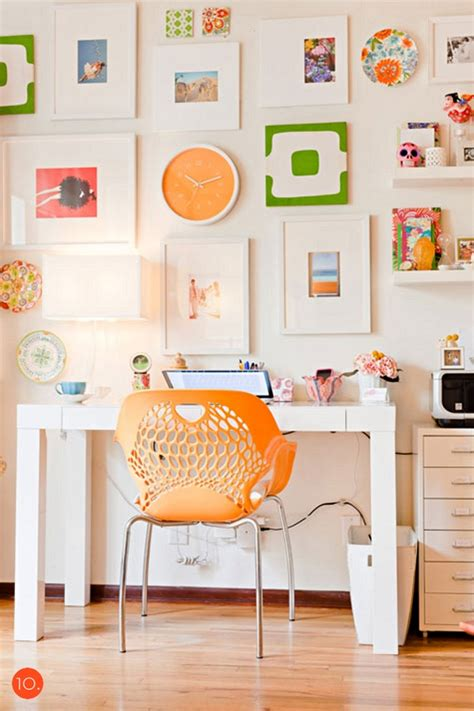 Colored Office Chairs Design Ideas 20 Home Office Ideas And Color Schemes