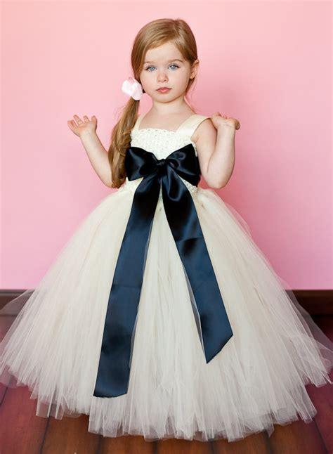 sweet flower girl dresses deer pearl flowers