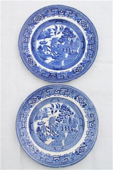 willow pattern english china antique english staffordshire china blue willow pattern