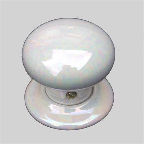 Of Pearl Door Knob by Porcelain Door Knob Of Pearl Single The Ceramic