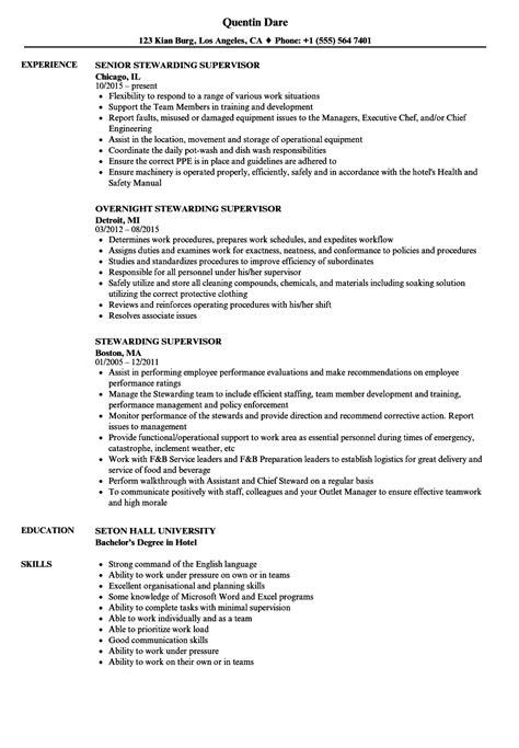 generous resume sle supervisory skills images resume