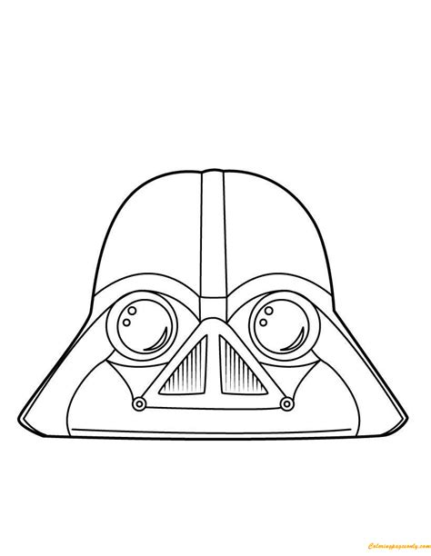 darth vader coloring page free coloring pages online
