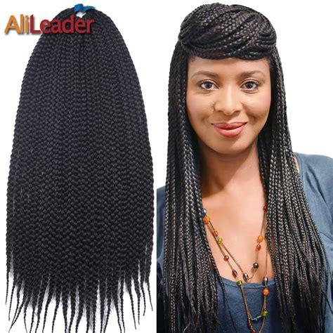 cheap crochet braids twist 3s box hair braids famous brand popular box braid extensions buy cheap box braid