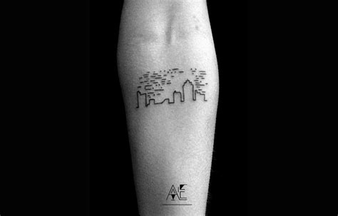 minimalist tattoo men axel ejsmont beautiful doodles new school tattoos