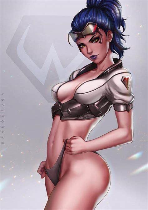 Overwatch Porn Hentai Nsfw Widowmaker Overshield