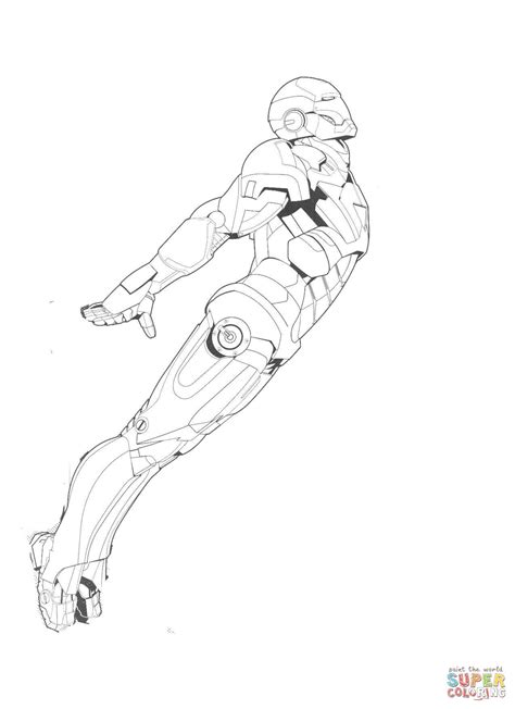 iron man flying coloring pages click the new iron man coloring pages iron man flying