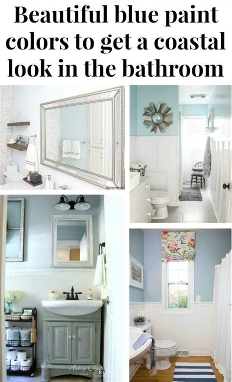 beautiful bathroom paint colors beautiful blue paint colors to get a costal look green