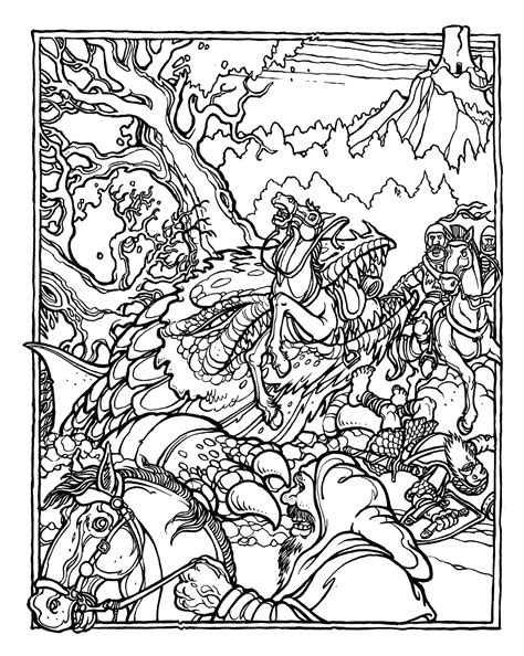 coloring books for boys dragons advanced coloring pages for teenagers tweens boys detailed designs with tigers more stress relief relaxation relaxing designs books brains the official advanced dungeons and dragons