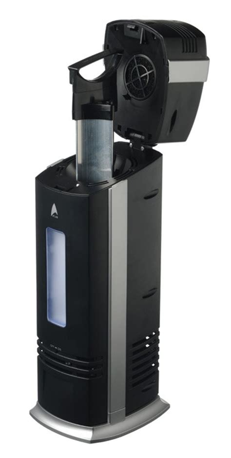 three atlas uv electrostatic ionic carbon filter air purifiers