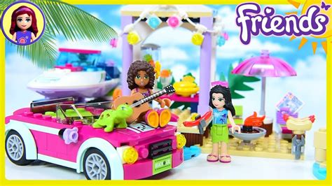 lego friends speedboat lego friends andrea s speedboat transporter beach party