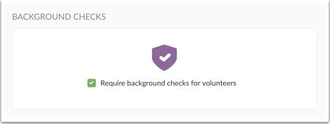 Volunteer Background Check Requirements Background Checks For Volunteers Planning Center Check Ins