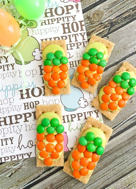 treats for toddlers carrot grahams easter treat for about a