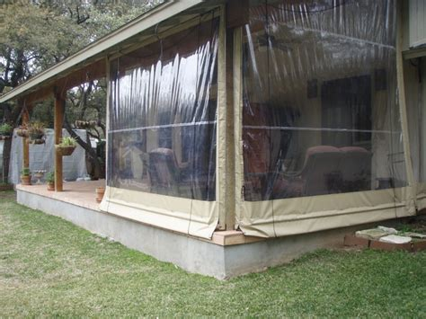 Patio Enclosure Designs Clear Vinyl Patio Enclosure Weather Curtains Lewis Residential Project Traditional