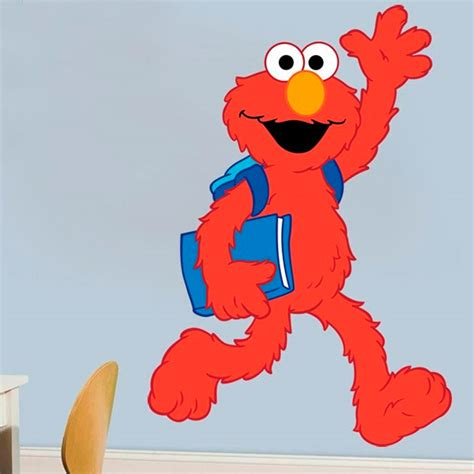 elmo wall stickers wall decal elmo wall decals sesame wall mural