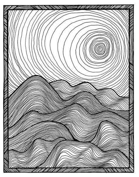 Drawing 7 Lines by Best 25 Contour Line Drawing Ideas On Contour
