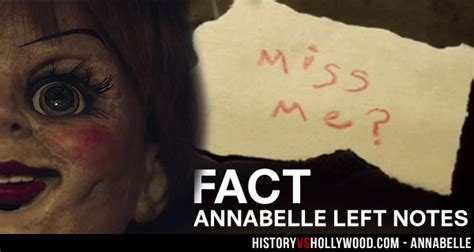 annabelle doll notes annabelle 2014 based on a true story aboebie s