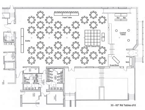 wedding reception layout generator floor plan wedding reception thecarpets co