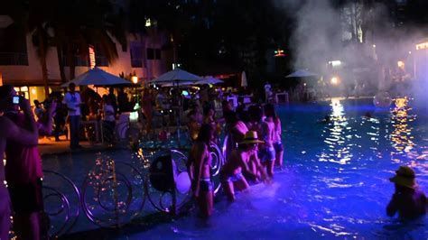 day  night pool party  youtube