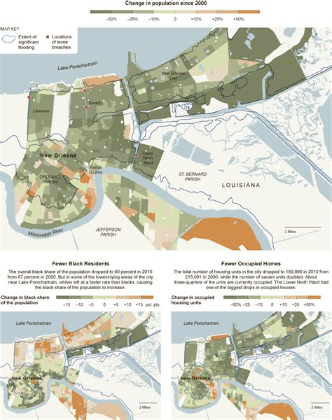 sections of new orleans population decline in new orleans interactive feature