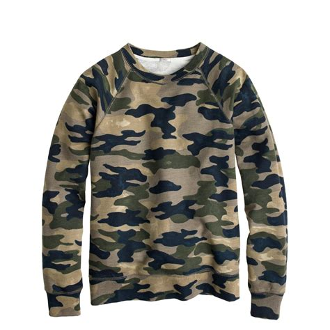 camo sweatshirts camo sweatshirt j crew