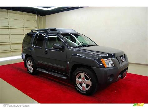 grey nissan xterra 2008 night armor dark gray nissan xterra se 13231944
