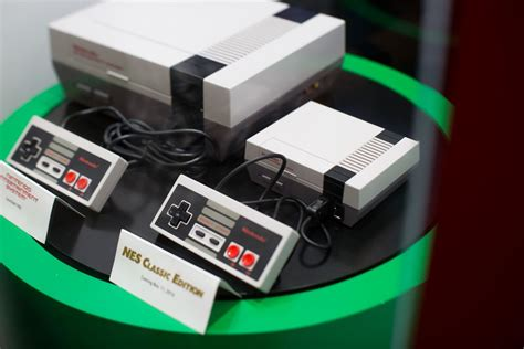 we just saw nintendo s we just saw nintendo s nes classic in person and it is glorious n4g