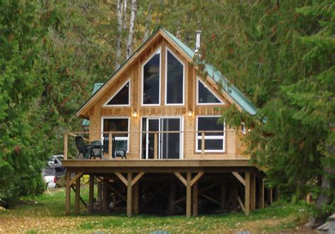 Custom Cabins by Falcon Custom Cabins Garages Post And Beam Homes Cedar
