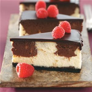 cheesecake delights a delicious cheesecake cookbook your taste buds will books chocolate raspberry cheesecake recipe taste of home
