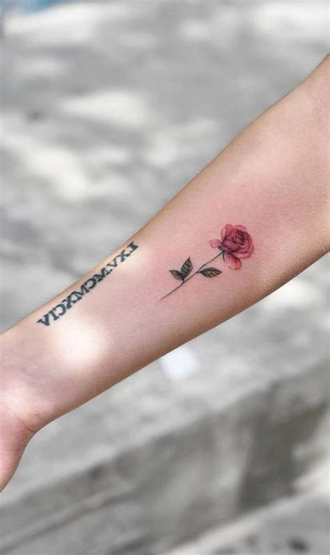 small flower tattoos for girls 30 simple and small flower tattoos ideas for