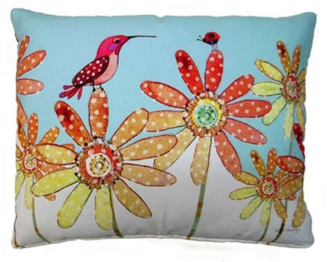 Outdoor Pillows Only by Hummingbird And Ladybug Outdoor Pillow Only 44 95 At