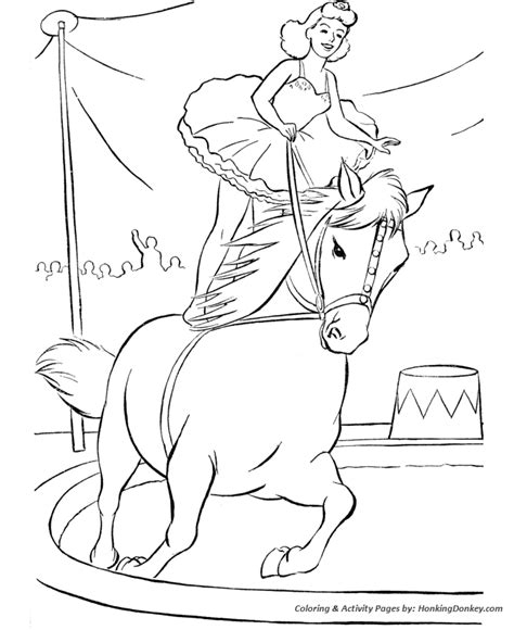 big top coloring coloring pages
