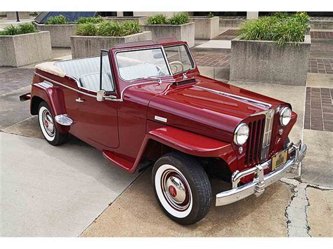 willys jeepster for sale 1949 willys jeepster for sale classiccars com cc 998188