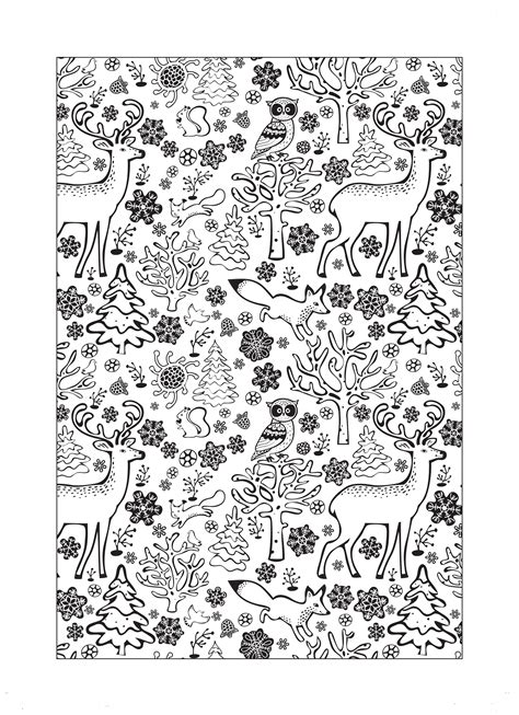 winter wonderland christmas coloring walk in a winter wonderland with this gorgeous free colouring sheet coloring 2