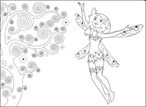 mia and me coloring page unicorn coloring pages