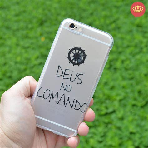 Diskon Spesial Natal Anti Casing Iphone 5 5s Se 6 6s capinha de silicone transparente deus comando para iphone