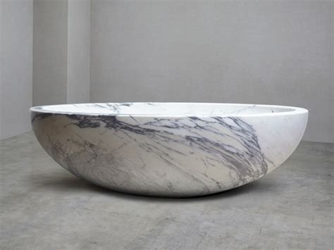 Bathtub Marble by Italian Arabescato Marble Bath Baths