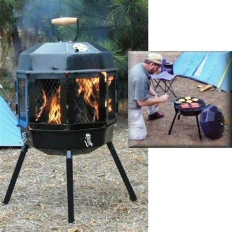 portable backyard fire pit portable fire pit grill wood burner outdoor fire place