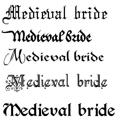 a dark wedding font gothic fonts for tattoos medieval scroll font a new font