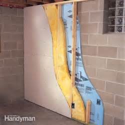 diy basement insulation finishing basement dricore and walls remodeling diy