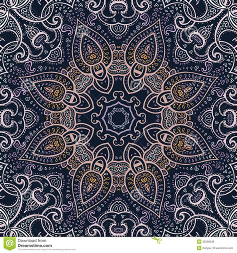 pattern mandala vector mandala indian decorative pattern royalty free stock