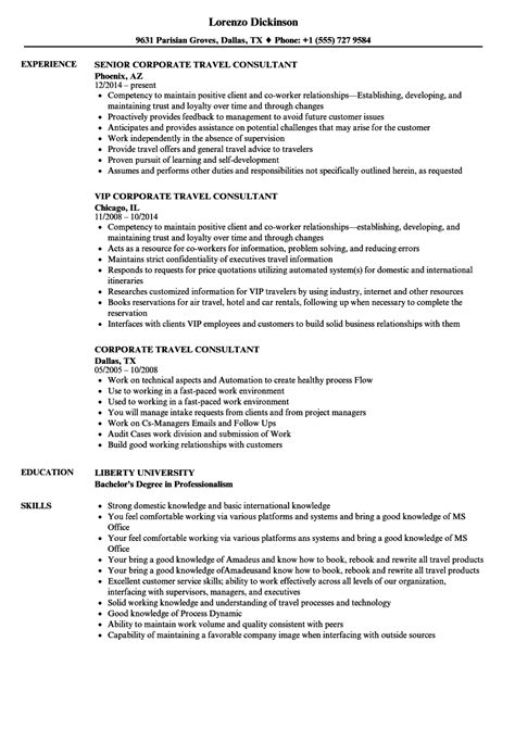 Cover Letter Travel Agent Sample Resume Job