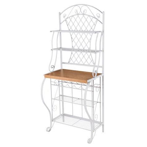 Bakers Rack White by 967be1233t 5