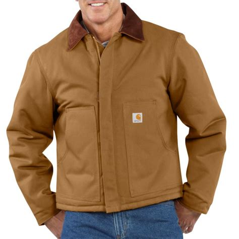 Carhartt Quilt Lined Jacket by Carhartt J002 Duck Traditional Jacket Arctic Quilt Lined