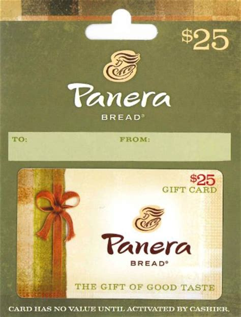 Www Panera Com Gift Card - panera bread gift card 25 shop giftcards